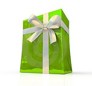Green Fancy Box Stock Image - Image: 6733261