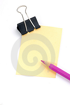 Note Pad Royalty Free Stock Photos - Image: 6735878