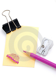 Note Pad Royalty Free Stock Photo - Image: 6735885