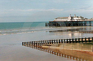 Hastings Pier Royalty Free Stock Photos - Image: 6736818