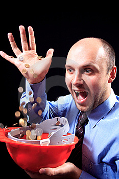 Pragnienie Pieniądze Zdjęcie Stock - Obraz: 6739000
