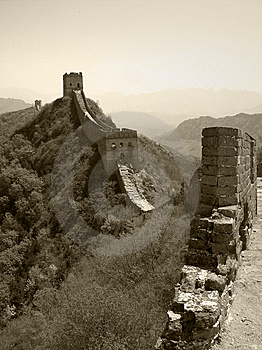 Great Wall Royalty Free Stock Photography - Image: 6739587