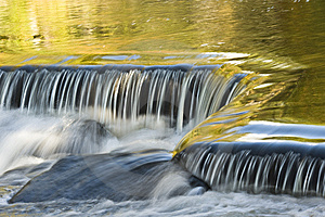 Bond Falls Reflections Stock Photo - Image: 6740550