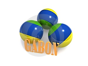 Gabon Flag Royalty Free Stock Photos - Image: 6741928