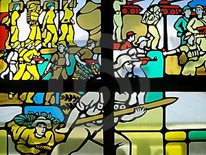 Stain Glass Window Stock Photo - Image: 6741930
