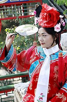 Retro Beauty In China. Royalty Free Stock Photo - Image: 6743395