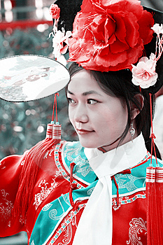 Classical Beauty In China. Royalty Free Stock Photos - Image: 6743508