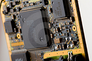 Circuit Board Stock Image - Image: 6743621