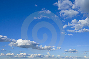 Fluffy Clouds Royalty Free Stock Photo - Image: 6744395