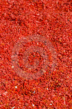 Red Gravel Royalty Free Stock Photo - Image: 6744465