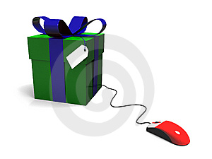Gifts Online Royalty Free Stock Image - Image: 6745016