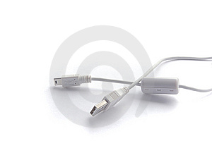USB And Mini USB Royalty Free Stock Image - Image: 6745346