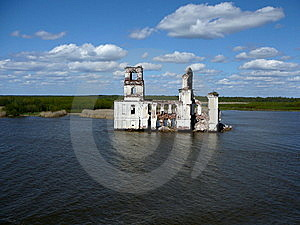 An Abandon Fortress ,Russia Stock Images - Image: 6747614