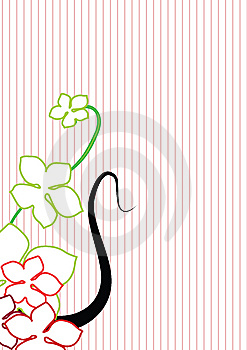 Floral Background - Vector Royalty Free Stock Photo - Image: 6748245