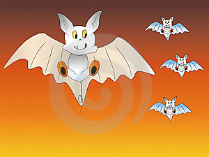 Lovely Bats Royalty Free Stock Photos - Image: 6749478