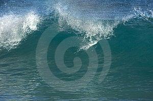 Dramatic Shorebreak Wave Stock Photo - Image: 6749610