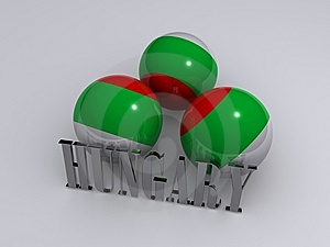 Hungary Flag Stock Photo - Image: 6749930