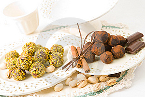 Handmade Chocolates Stock Photos - Image: 6750933
