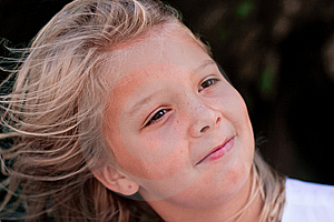 Close-up Of Beautiful Girl Royalty Free Stock Images - Image: 6754119