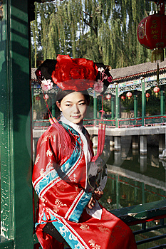 Classical Beauty In China. Royalty Free Stock Photo - Image: 6754315