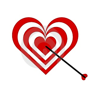 Target Heart Royalty Free Stock Photo - Image: 6754385