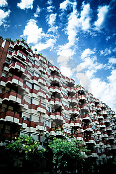 Block Of Flats Stock Images - Image: 6754814