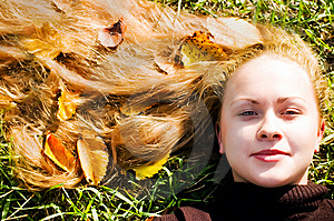 Autumn Portrait Stock Photo - Image: 6755260