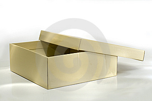 Box cardboard. Stock Photography