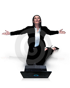 Business Woman - Virtual Stock Images - Image: 6755764