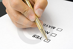 Checklist Questionnaire Quality Of Service Stock Images - Image: 6756064