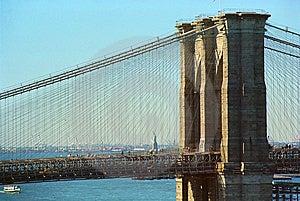 Brooklyn Bridge New York Royalty Free Stock Image - Image: 6756096
