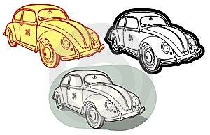 Retro Automobile Royalty Free Stock Photo - Image: 6757545