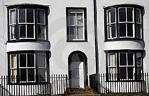 Period Housing Row Stock Photography - Image: 6760912