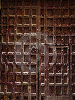 Old Door Royalty Free Stock Photo - Image: 6761325
