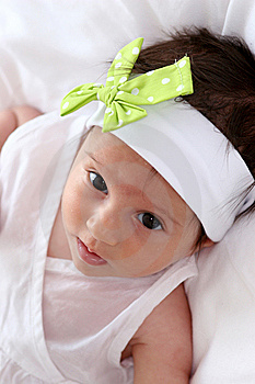 Baby Girl Royalty Free Stock Image - Image: 6761826