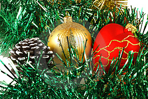 Preparation For Christmas , Decorations Stock Photography - Image: 6763122