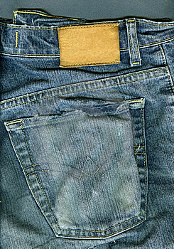 Jeans Background. Stock Image - Image: 6764721