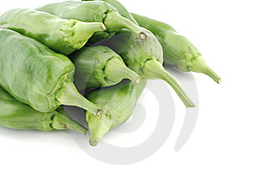 Green Peppers Pile Stock Photo - Image: 6765060