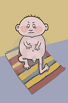 Sadness Baby Stock Photo - Image: 6767430