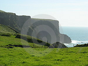 Green Cliff Of Moher Royalty Free Stock Photography - Image: 6772537
