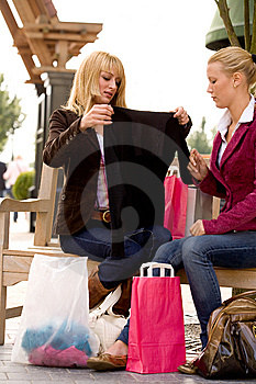Holding Up The New Black Shirt Stock Images - Image: 6772934