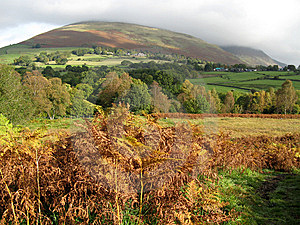 Blencathra Hiding In The Cloud Stock Photography - Image: 6773282
