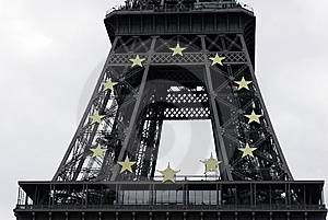 Star Tower Decoration Royalty Free Stock Image - Image: 6774276
