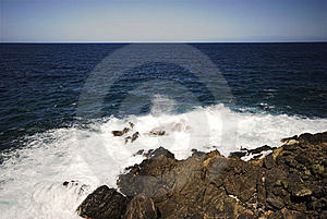 Big Waves Royalty Free Stock Photo - Image: 6775005
