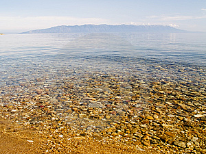 Clear Water Of Baikal  2 Royalty Free Stock Image - Image: 6775536