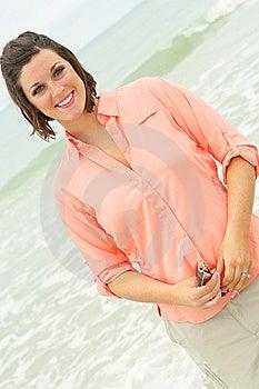 Gorgeous Brunette Royalty Free Stock Photo - Image: 6776255