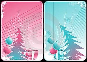 Winter Cards Stock Photos - Image: 6776723