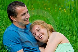 Young Couple Laughing Stock Photo - Image: 6777990