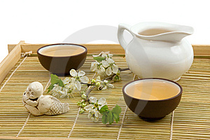 Chinese Tea Ceremony Stock Photo - Image: 6778800