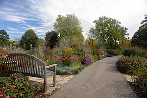 Garden With Trail Stock Photography - Image: 6778812